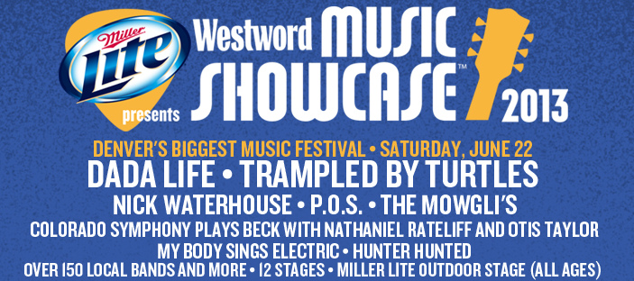 Westword Music Showcase 2013